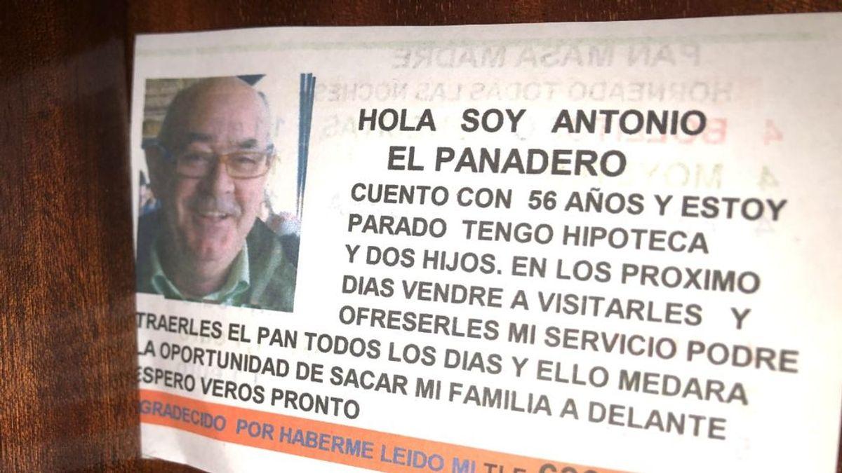 """""""Hola soy Antonio el panadero"""", una historia de superación en plena crisis"""
