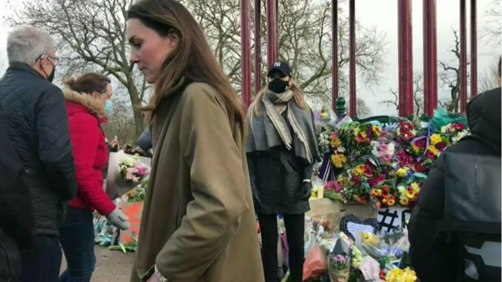 Kate Middleton, una más en las protestas por el asesinato de una mujer en Londres