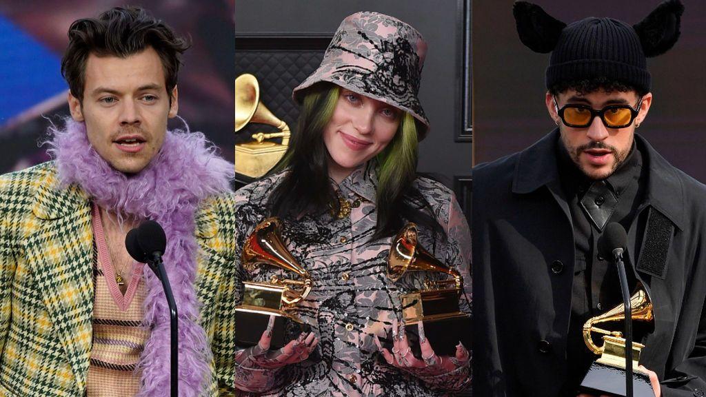 Premios Grammy 2021: la complicidad de Billie Eilish y Harry Styles, la consagración de Bad Bunny y el paso a la historia de Beyoncé