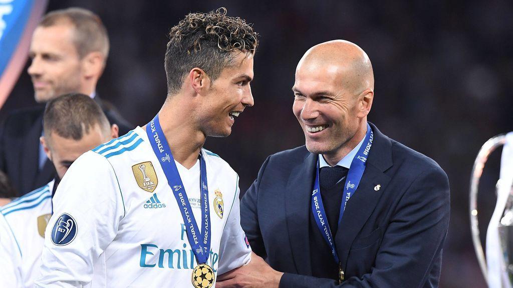 """Zidane no descarta la vuelta de Cristiano al Real Madrid: """"Sí, es posible"""""""