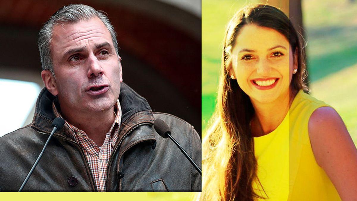 Javier Ortega Smith y su futura esposa, Paulina Sánchez del Río Nájera