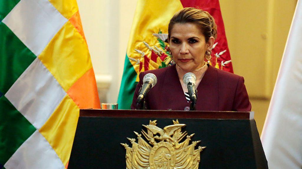 La expresidenta de Bolivia , Añez, en prisión preventiva durante cuatro meses
