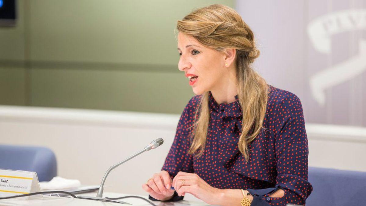 Yolanda Díaz, propuesta por Iglesias para sustituirle como vicepresidenta segunda del Gobierno