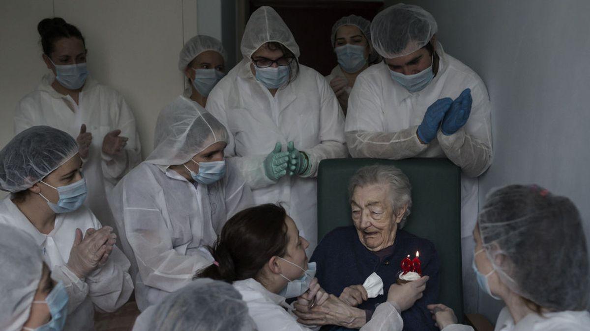 La fotografía ganadora, el 98 'Cumpleaños' de Elena Pérez