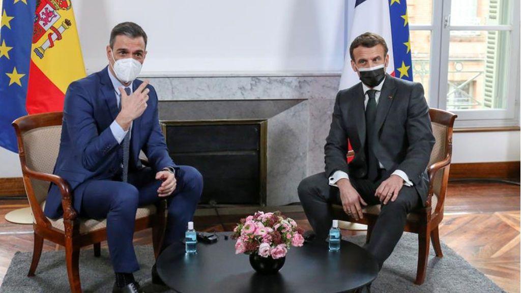 En directo: Sánchez y Macron en rueda de prensa tras la XXVI Cumbre Franco-Española de Montauban