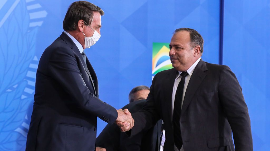 Bolsonaro nombra a su cuarto ministro de Salud en el peor momento de la pandemia