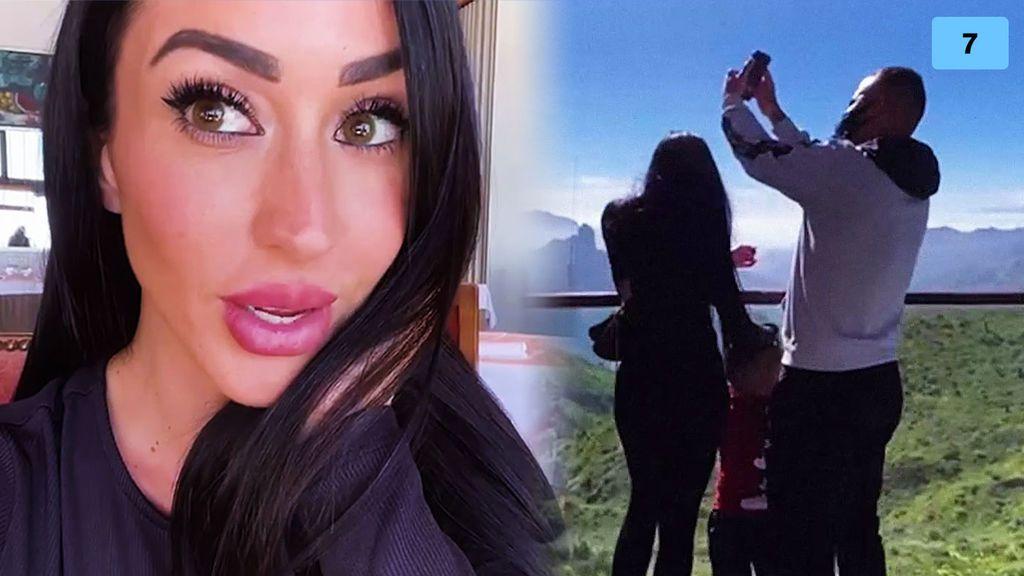 Aurah Ruiz disfruta de un día en familia junto a Jesé Rodríguez y su hijo Nyan y estalla (1/2)