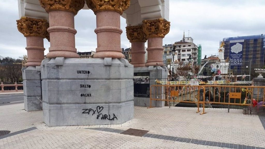pintada San Sebastian puente