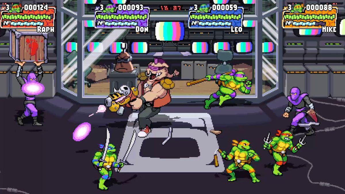 Dotemu anuncia Teenage Mutant Ninja Turtle: Shredder's Revenge para PC y consolas