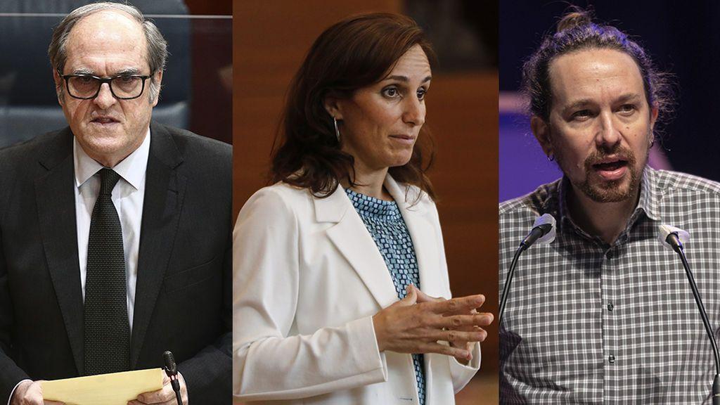 La división de la izquierda en Madrid no les perjudicará si los 3 partidos superan el 5% de los votos