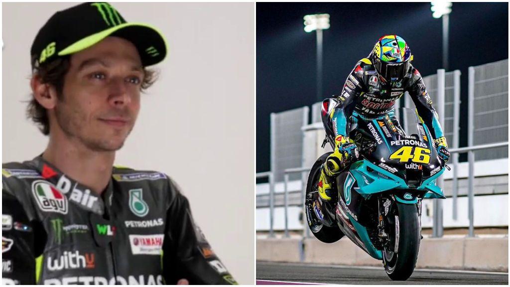 La sonrisa de Valentino Rossi al comenzar una nueva etapa en MotoGP a los 42 años