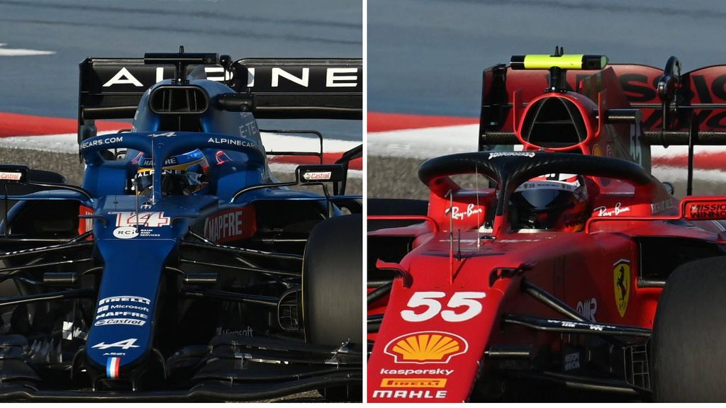Comparativa entre el A521 y el SF21