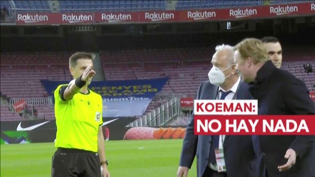 """Las quejas de los jugadores del Barça tras el penalti de Ter Stegen: """"El VAR es una p*** mierda"""""""