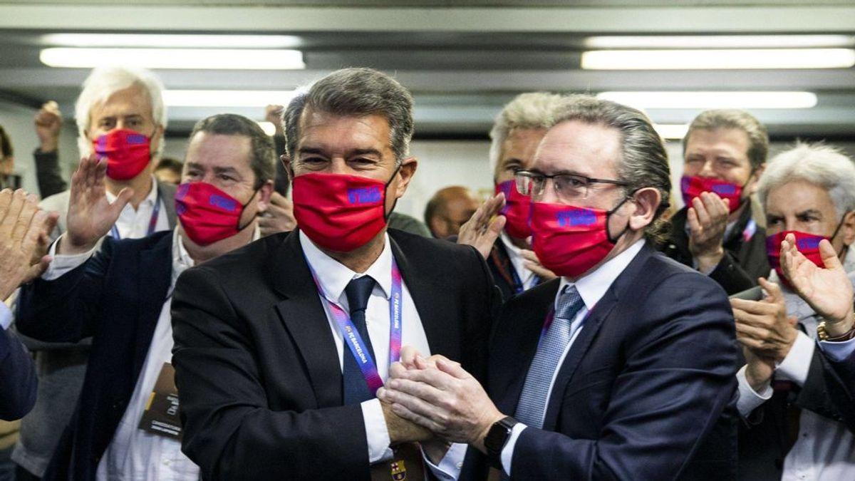 Joan Laporta consigue el aval de 125 millones y será investido presidente del Barcelona