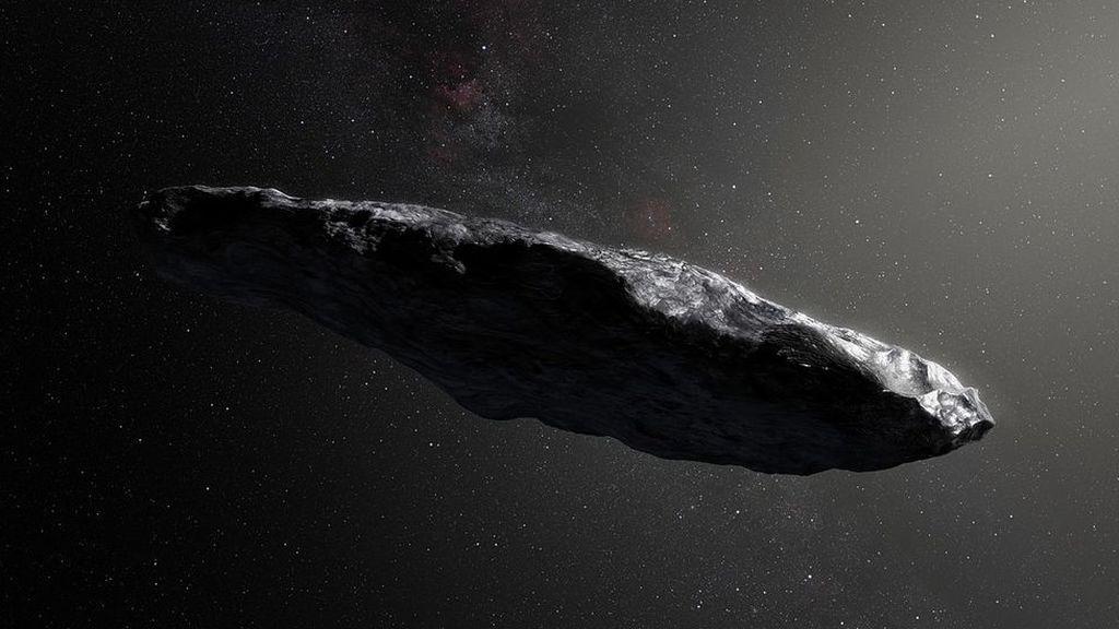 Siete rocas espaciales extraterrestres pueden pasar por nuestro sistema solar cada año