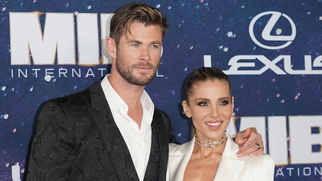 Elsa Pataky reta a Chris Hemsworth y demuestra tener tanta fuerza como Thor