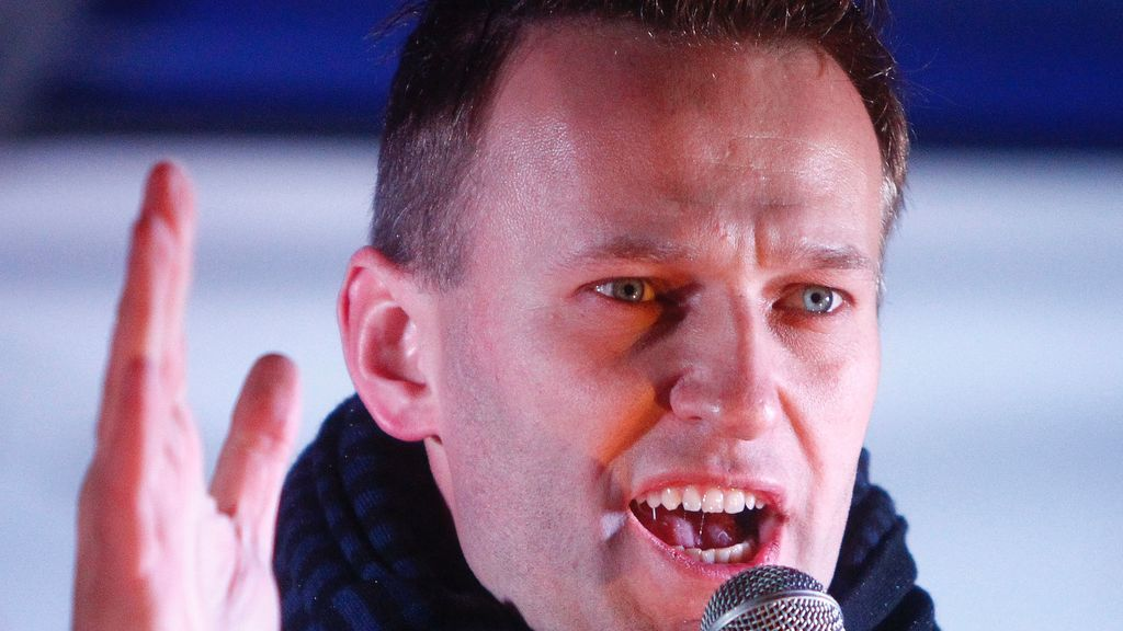 """El líder opositor ruso  Alexei Navalny dice que está en un """"campo de concentración"""""""