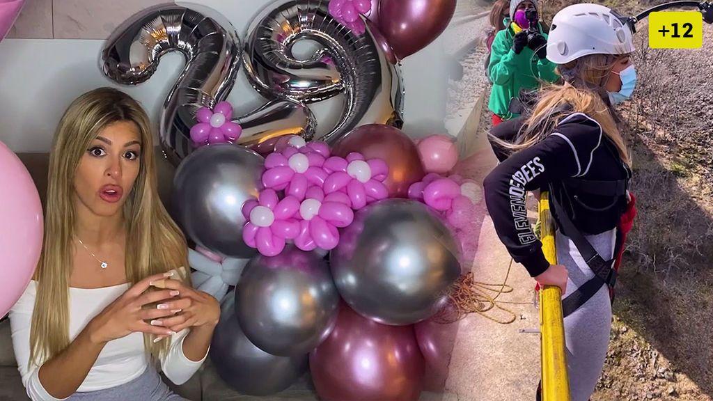 Así ha sido el impresionante cumpleaños de Oriana Marzoli (1/2)