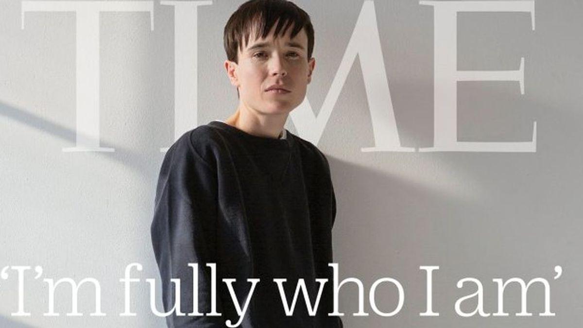 Elliot Page, en la portada de Time