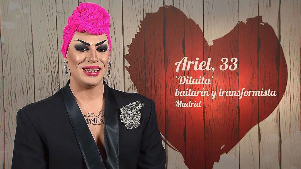 Ariel 'Dilaila' en el programa 'First Dates'