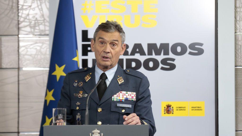 Robles premia con un puesto en Washington al exJEMAD Villarroya, que se vacunó saltándose el protocolo