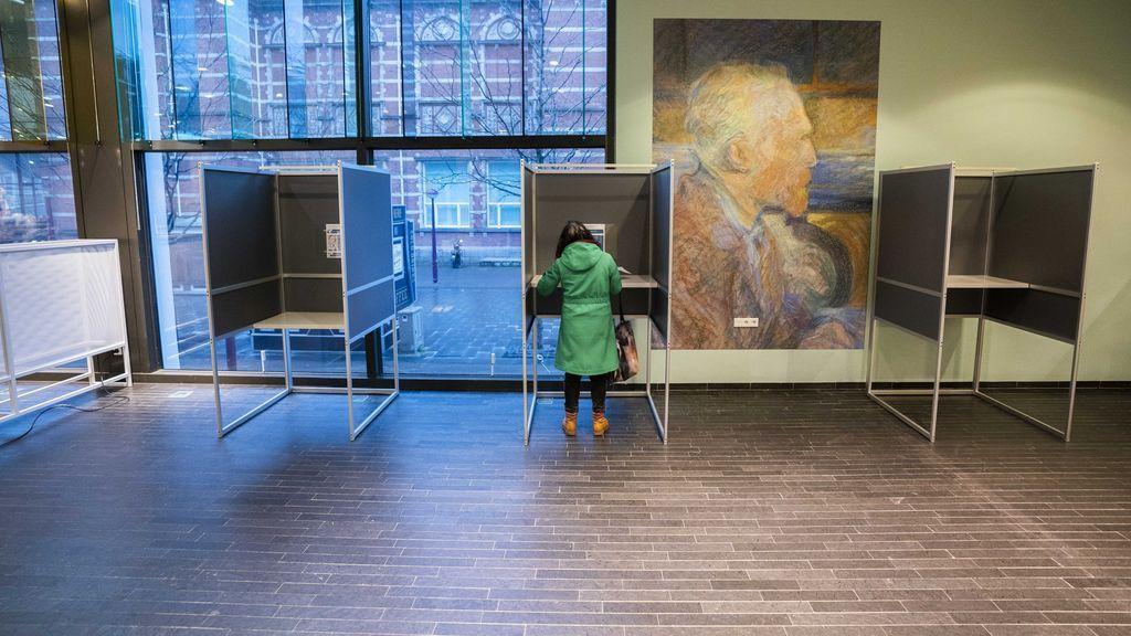 Votar en el Museo Van Gogh de Ámsterdam, un 'lujo' en las elecciones holandesas