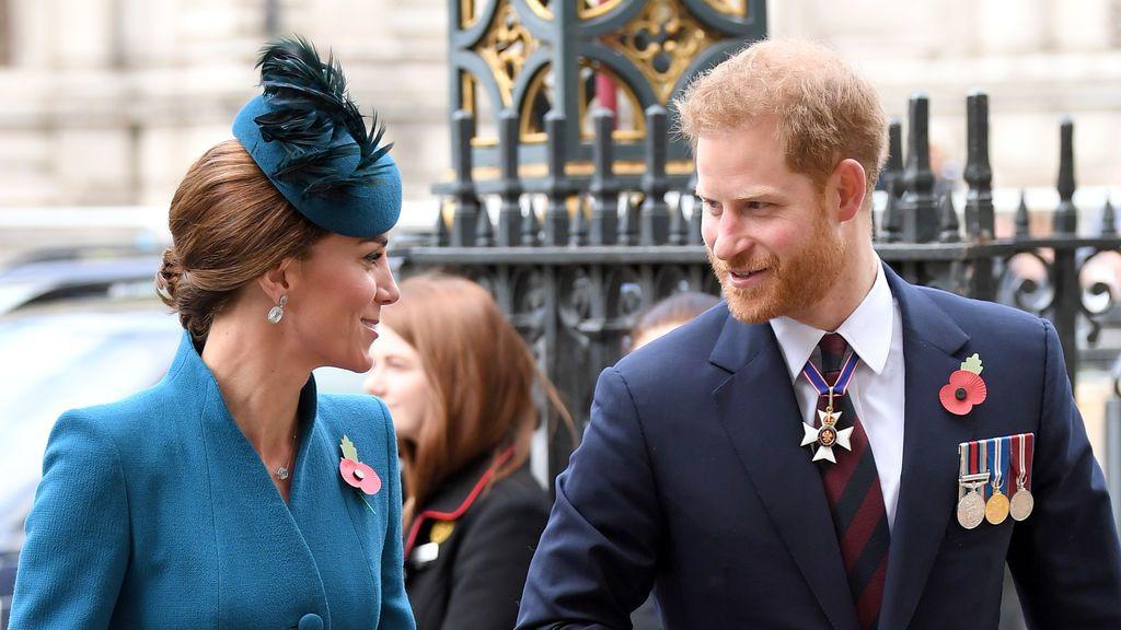 El príncipe Harryhizollorar aKate Middleton el día de su boda con Guillermo