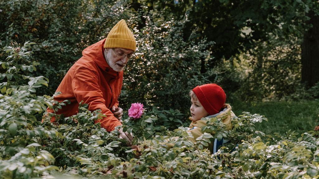 Estar con los abuelos, lo primero: la encuesta de qué es lo que hace más feliz a los niños entre 3 y 8 años
