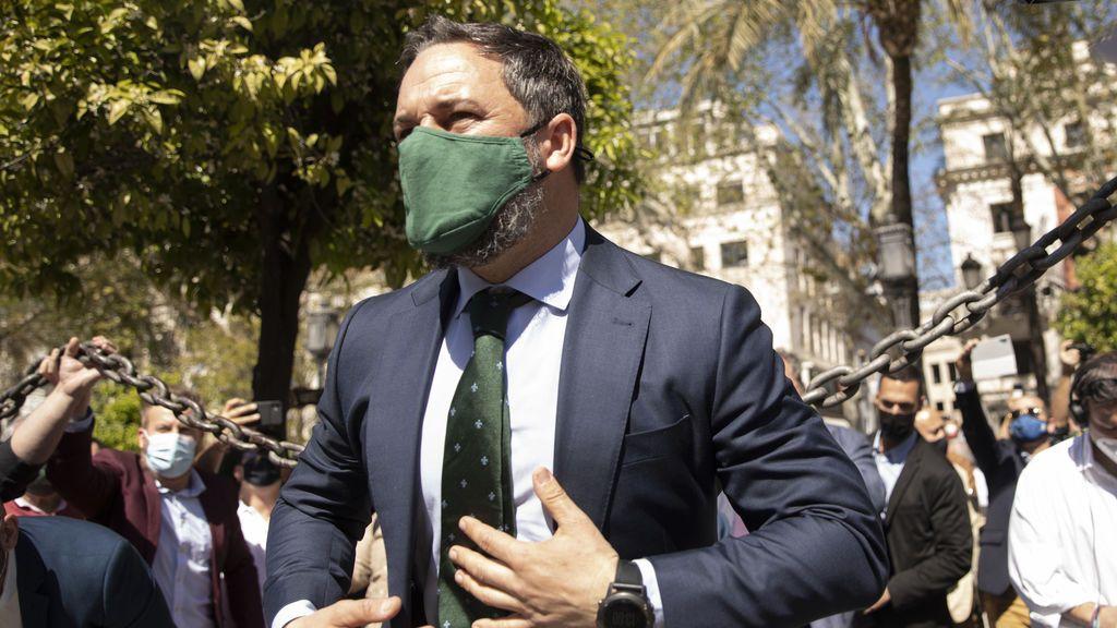 """Abascal pide a Moreno reflexionar un adelanto electoral: """"el problema de la estabilidad lo encarna el puñal naranja"""" de C's"""