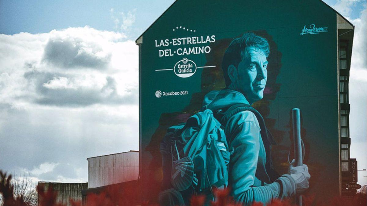 Estrella Galicia crea la exposición artística más larga del mundo a través del Camino de Santiago