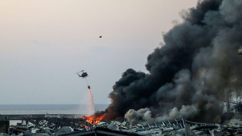 La gran explosión de Beirut llegó a perturbar la ionosfera, a cientos de kilómetros de altitud