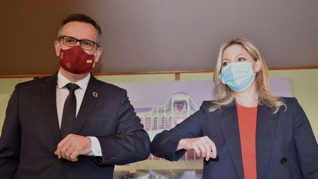 """Ciudadanos y PSOE defienden la moción de censura en Murcia como """"regeneración política frente a la corrupción del PP"""""""