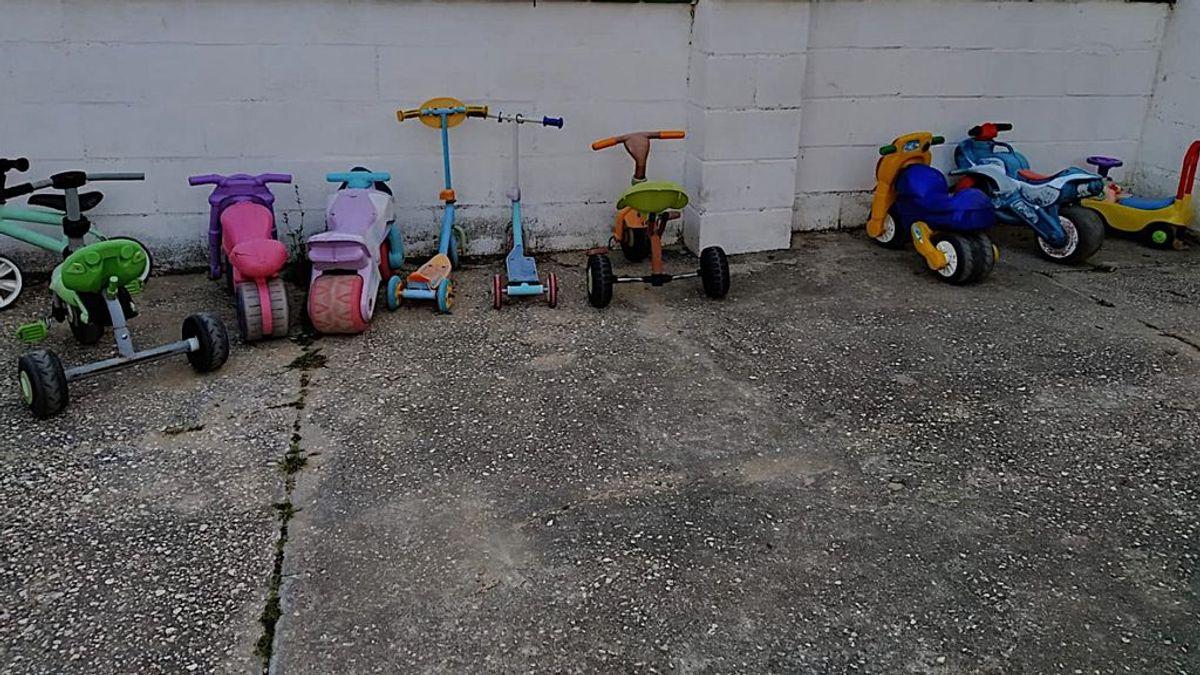 Los ladrones de triciclos: roban los juguetes de una escuela infantil en Cádiz