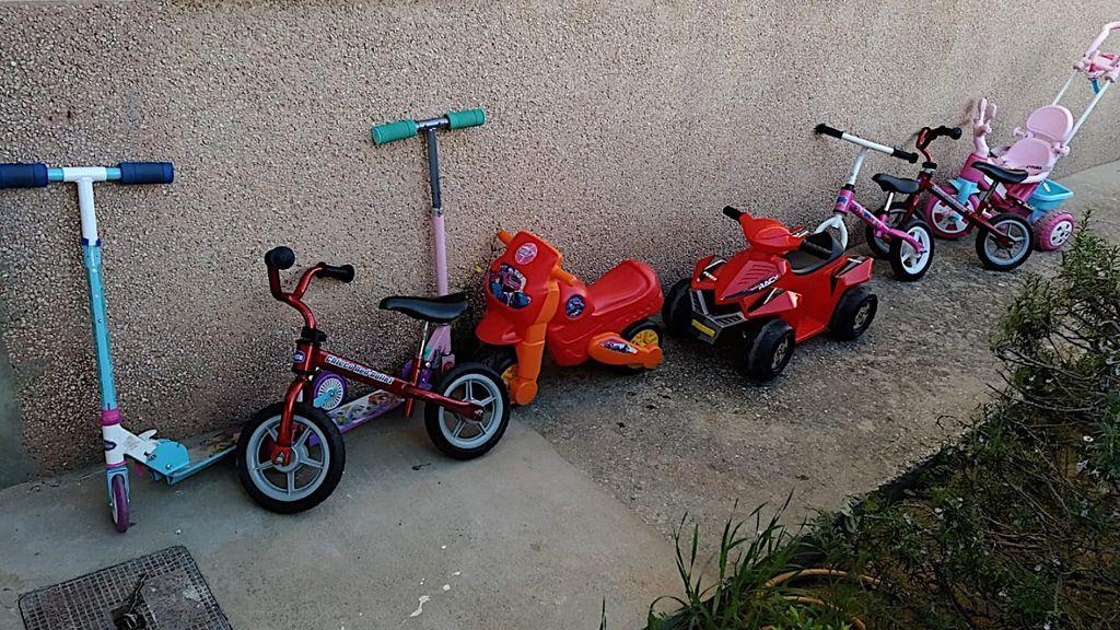 Los nuevos juguetes donados por padres y vecinos