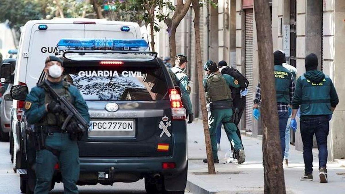 Detenidos los tres autores de un abuso sexual en un chalé de Madrid