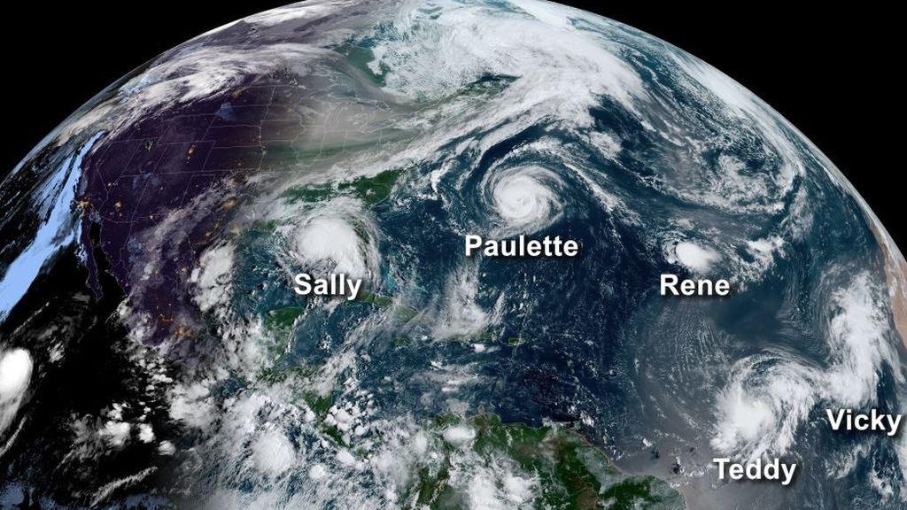Adiós al alfabeto griego para bautizar a los huracanes: confirmada la nueva lista de 21 nombres