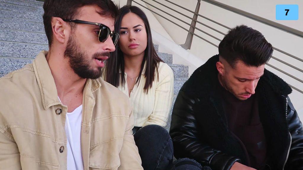 Cristian Atm y Alba quedan con Jorge y se quedan en shock con la confesión de Yoli (2/2)