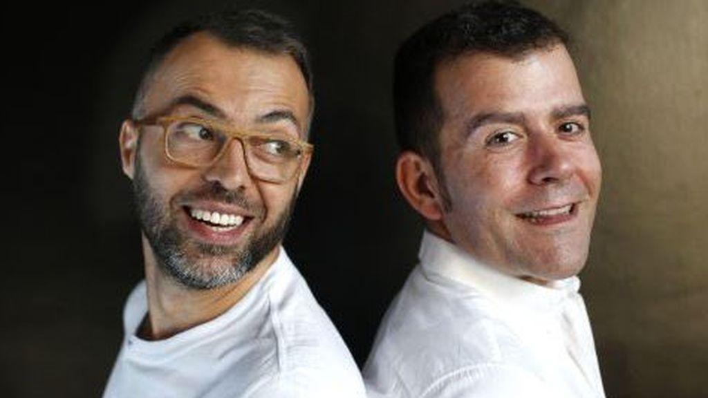 Óscar Cornejo y Adrián Madrid, propietarios de La Fábrica de la Tele