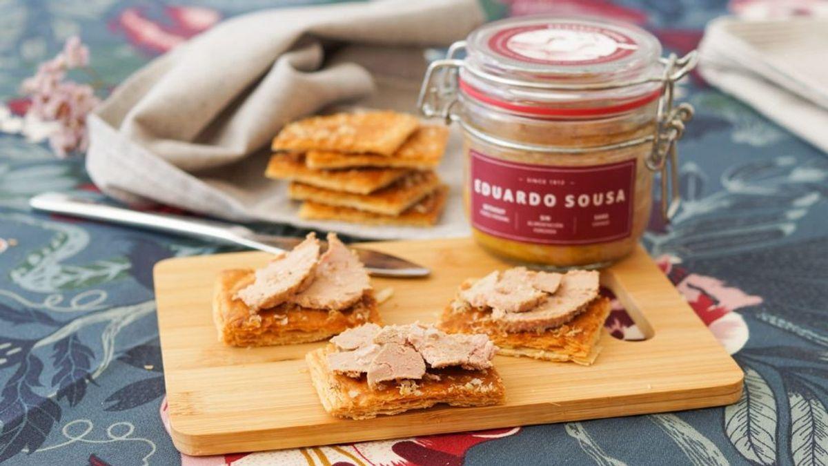 Foie gras de bellota fait en Extremadura