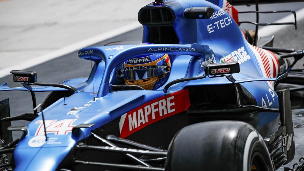 """Fernando Alonso sitúa a Alpine en la parrilla tras los primeros test: """"Hay mucho trabajo por hacer"""""""