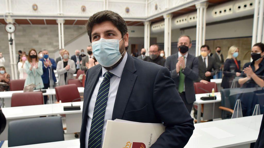 Fracasa la moción de censura en Murcia