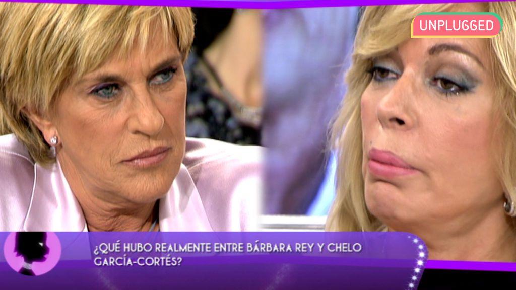 Chelo García-Cortés y Bárbara Rey