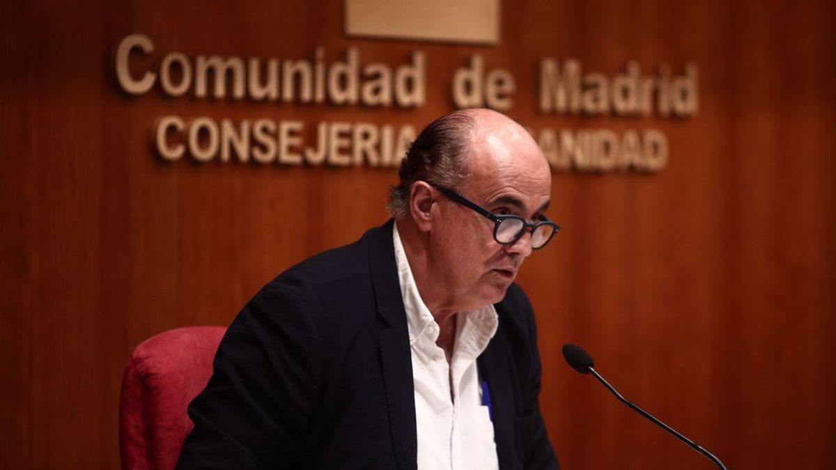 Viceconsejero de Salud Pública y Plan Covid-19, Antonio Zapatero