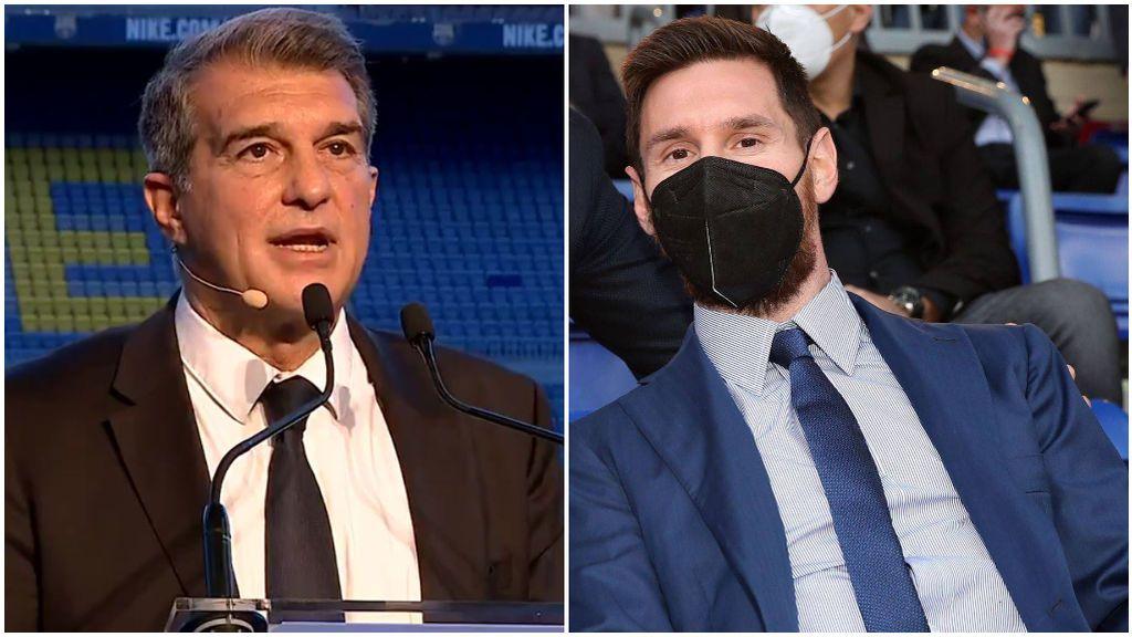 Laporta y Messi hablarán en las próximas semanas.