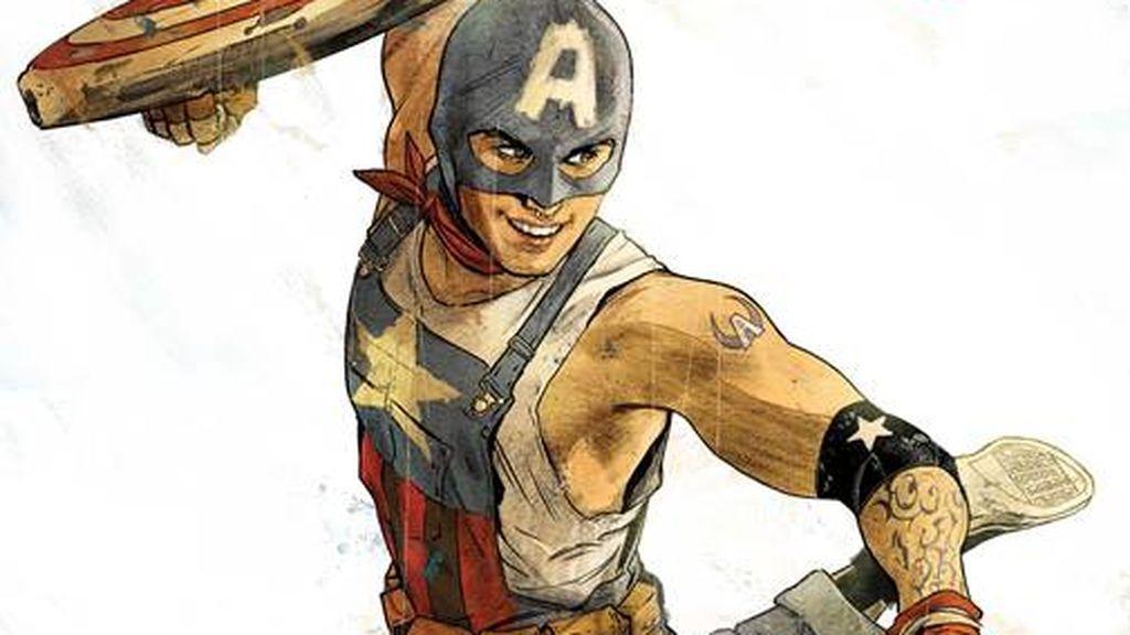 Marvel presenta a un Capitán América gay: un adolescente que lucha por los oprimidos y los olvidados