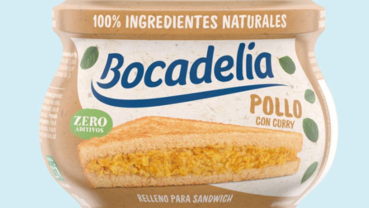 Retiran el lote de relleno para sándwich Bocadelia de pollo con curry por no avisar que lleva leche