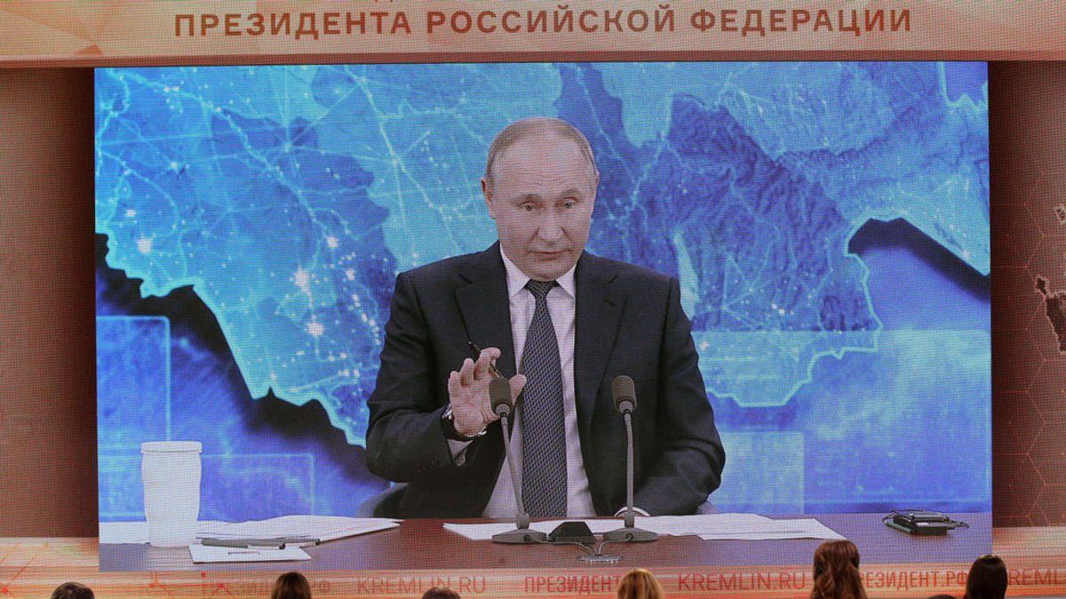 "Putin le desea ""buena salud"" a Joe Biden después de que este le acusase de asesino"