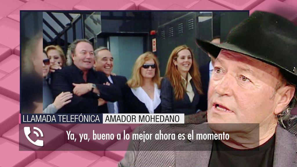 "Amador Mohedano, sobre Rocío Carrasco: ""Me va a poner verde"""