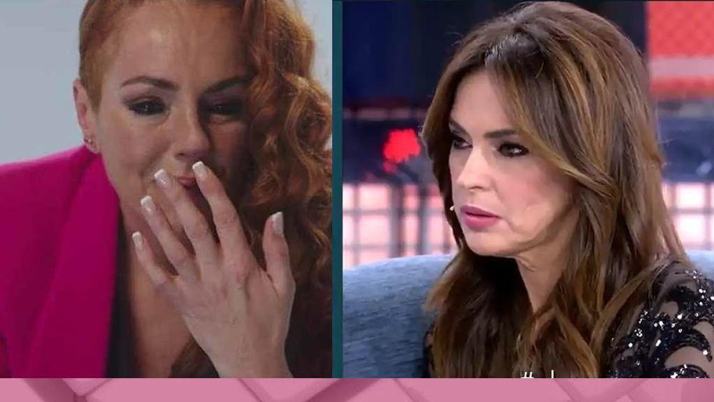 Olga Moreno reacciona al bombazo de Rocío Carrasco