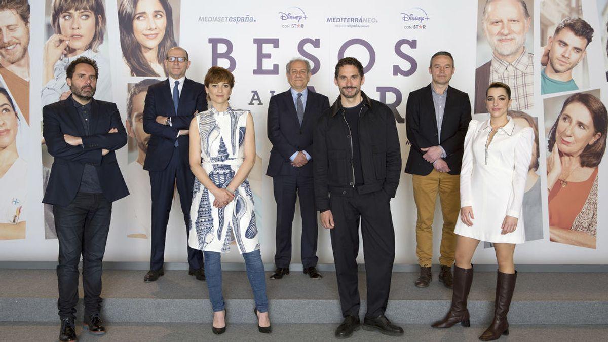 Disney+ y Mediaset España presentan 'Besos al aire'